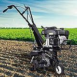 BRAST Benzin Ackerfrse 3,7kW (5PS) Arbeitsbreiten 36cm Selbstantrieb Motorhacke Gartenfrse Bodenfrse...