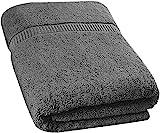 Utopia Towels - Badetuch gro aus Baumwolle 600 g/m - Duschtuch, 90 x 180 cm (Grau)