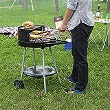 Framy Trolley Metall Charcoal BBQ Grill Pit Outdoor-Camping-Kocher Garten Grill Herd Werkzeuge Grill...