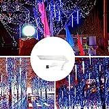 Hahuha LED-Licht, 30CM Party LED Lichter Dusche Regen Schneefälle Weihnachtsbaum Garten im Freien,...
