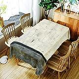 N/A Jinyuan Polyester wasserdichte Tischdecke Creative Colourful Pattern Polyester Komfortable...